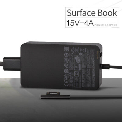 NEW Microsoft Surface Book Pro 3 Pro 4 65W 15V 4A AC Adapter 1706 Power Supply