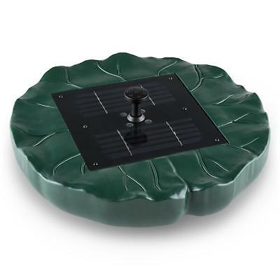 Solar Outdoor Garden Fountain Floating Flower  150 l/H Remote LED Decoration