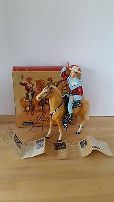 VINTAGE 1950's ROY ROGERS AND TRIGGER IN ORIGINAL BOX #806