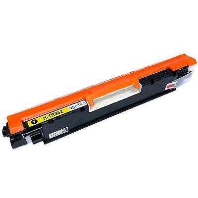 1 Yellow Laser Toner Cartridge to replace HP CF352A (130A) non-OEM / Compatible