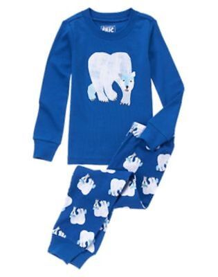 NWT Gymboree Eric Carle Polar Bear Pajama Set 2pc 6-12,18-24,2T,4,5,6