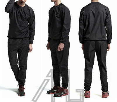 Heavy Duty Sweat Suit Sauna Gym Training Fitness Exercise Weight Loss Anti-Rip