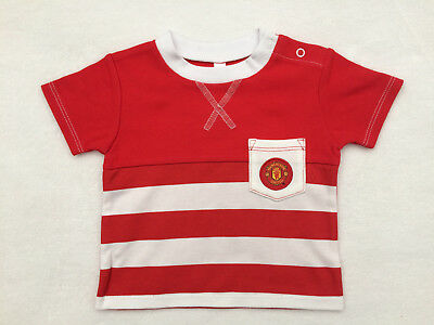 Manchester United T-Shirt Age 9-12 Months