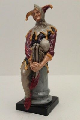 "Vintage Royal Doulton Figure The Jester HN 2016 ~  9"" Tall"