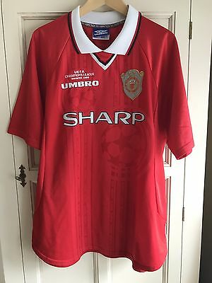 Manchester United 1999 Umbro Champions League Final Football