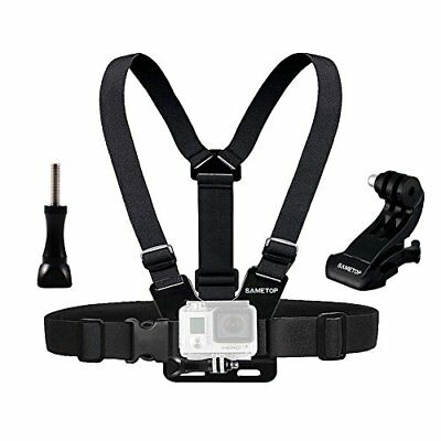 Sametop Adjustable Chest Mount Harness for Gopro Hero 5, 4, Session, 3+, 3, 2, 1