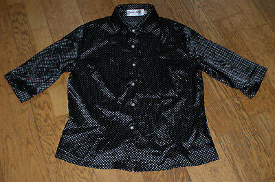 Rockabilly Hepcat Polka Dots Pünktchen Bluse BETTIE PAGE Gr.XXL