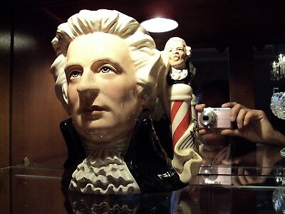 Royal Doulton Composers Mozart Large Character Toby Jug / D7031/ England c.1996