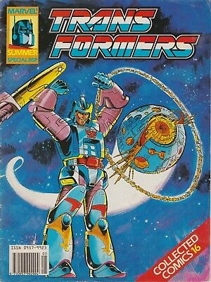 The Transformers Collected Comics #16 Marvel UK (1990) Summer Special Low Print