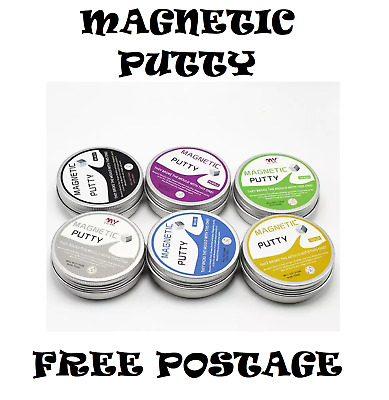 Magnetic Putty Hand Slime Play Plasticine Dough Rubber Magic Super Thinking Cool