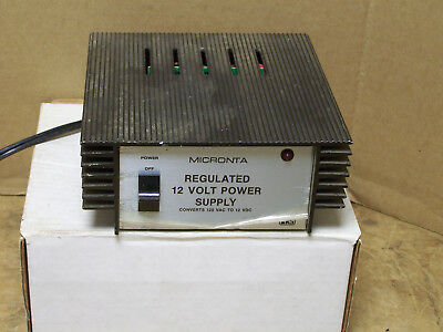Micronta DC Power Supply 13.8 Volt 2.5 Amp Regulated