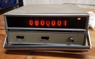 Vintage Ham Radio HEATHKIT Co. Frequency Counter Model: IB-1102 IB1102 Tested!!
