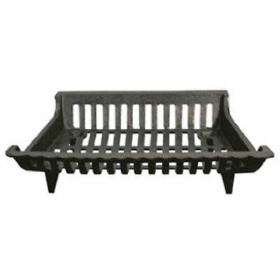 Pleasant Hearth Cast Iron Grate 18in Fireplace Grate, New