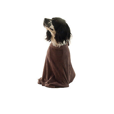 Premium Dog Bag Micro Fleece Towel To Keep Doggy Warm & Dry & Cars Clean XS-XL