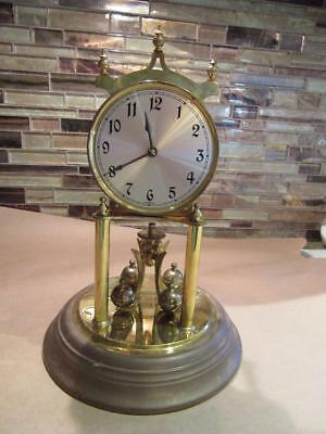 Antique Clock Kleiningere Obergfell Germany for Parts or Repair