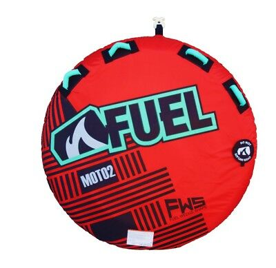 "Fuel Moto Two Person Deck Round 58"" Ski Tube.  Back In Stock. New"