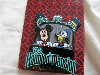 Disney Trading Pins 90999 Haunted Mansion - Mickey and Donald with the Hitchhiki
