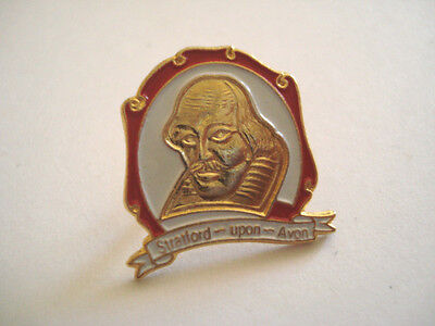 Pins Rare Stratford Upon Avon William Shakespeare Royaume Uni