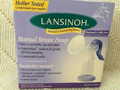 Lansinoh Manual Breast pump with comfort seal
