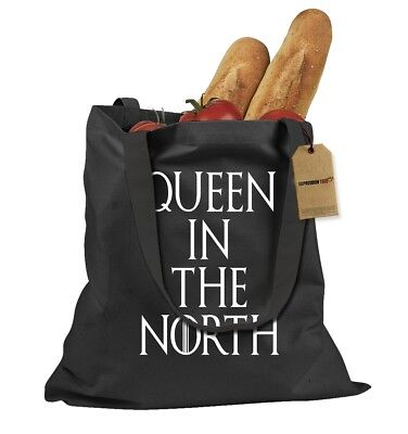 Queen In The North GoT Shopping Tote Bag