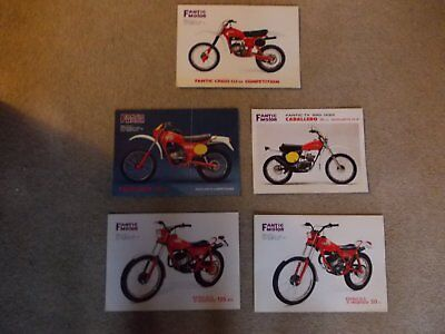 Fantic Motor sales leaflets  ***RARE***  CABALLERO - TRIALS - COMPETITION