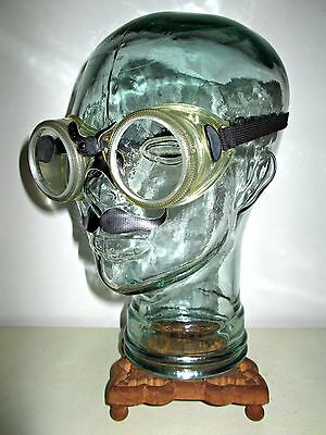 Antique WILLSON Safety Cup Goggles Glasses Star Wars Rouge One Rockabilly Retro