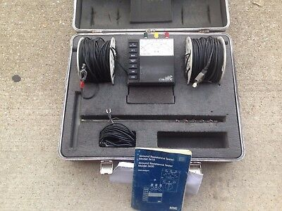 AEMC Corp 3630 Ground Resistance Tester EARTH TESTER