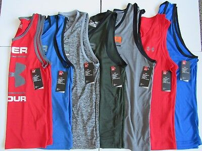 Under Armour Mens Tech Graphic Tank Top 1274034 Nwt