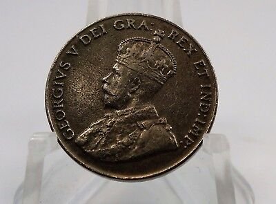 1925 Canadian Canada 5 Cents Nickel Coin 5c - You Grade It - Z14
