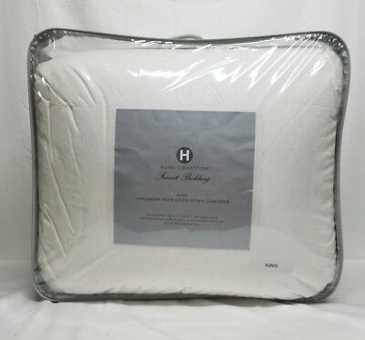 HOTEL COLLECTION - Finest Hungarian White King Down Comforter