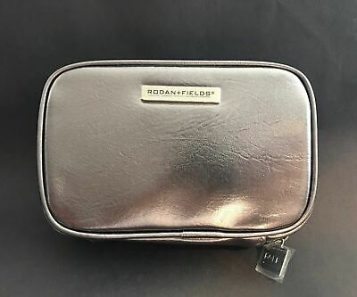 Rodan And Fields Cosmetic Bag in Metallic PU - NEW
