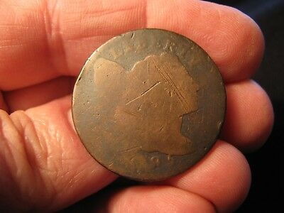 1795 Liberty Cap Large Cent **sheldon-75**  Free Shipping!!