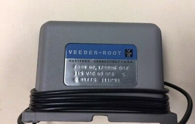 Veeder Root 6 Digit Electric Counter Form No 179896-007 - FREE SHIPPING
