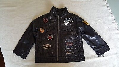 Toddler 3T Faux Leather Biker Jacket - Childrens Place