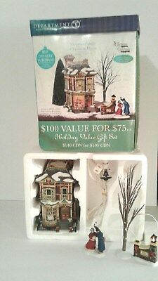 "Department 56 Dickens' Village Series ""VICTORIAN FAMILY CHRISTMAS"" 56.58717"
