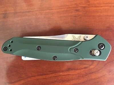 NEW Benchmade 940 Osborne AXIS Lock Knife w/ Green Handle & S30V Blade