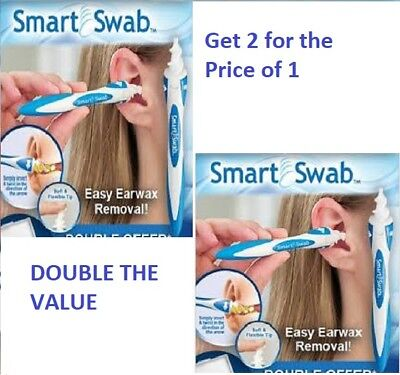 Smart Swab Ear Wax Cleaner Removal Earwax Remover Spiral Soft Safe Tool AU Stock