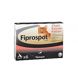Fiprospot anti puces chat 6 pipettes (generique Frontline)