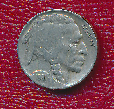 1931-S Buffalo Nickel **better Date From San Francisco Mint** Free Shipping!