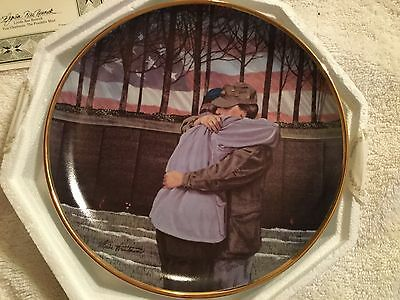 Heroes Reunited Limited Edition Collector Plate Numbered 24 karat gold