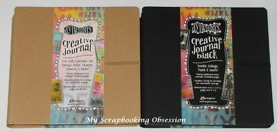 "Dylusions 'CREATIVE JOURNAL' 8x8"" Art Book (Choose from 2) Ranger Mix Media"
