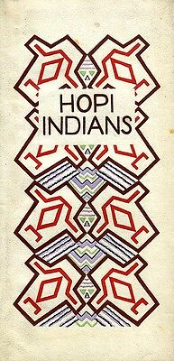 Rare Privately Printed Hopi Indian Art Pamphlet Art Deco Gouaches