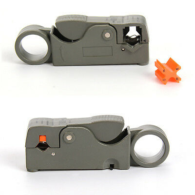 1pc Universal Cable Stripper For RG59/RG6/RG11 Coaxial Wire Coax Stripping Tool