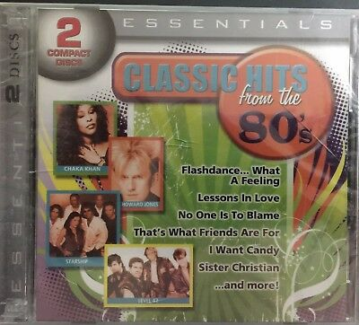 Classic Hits From the '80s by Various Artists (CD, Apr-2012, Play 24-7), New
