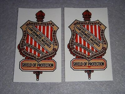 Rocolla non sticker pr. water slide decals for antique slot machine restoration
