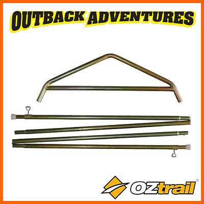 Oztrail Tourer 9 Canvas Tent Side Pole Kit Ctta-Spk09-B