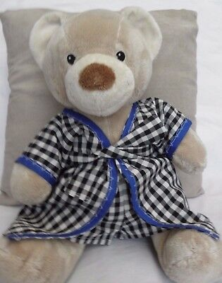 Print gown/boxers to fit pumpkin patch teddy 15 inch boys build a bear clothes