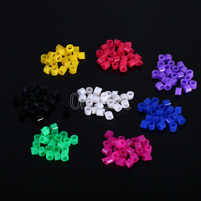 100pc/box Code Rings Standard Color Recognition Colorful Rings Dental Silicone