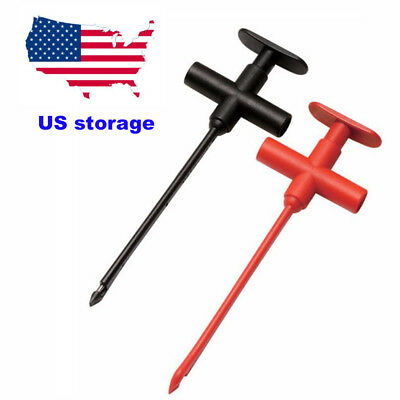 US SHIP 10A/1000V Automotive Insulation Piercing Clip Full Heavy-Duty Test Probe