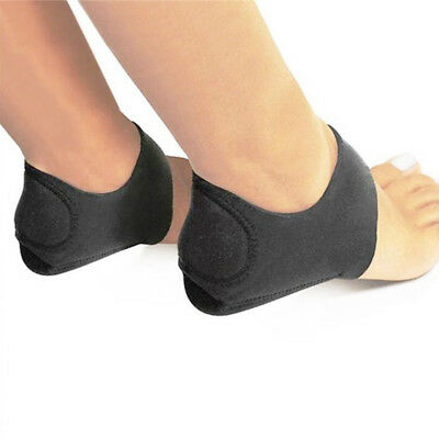 Feet Heel Ankle Wrap Pads Cushion Plantar Fasciitis Pain Relief Arch Support